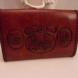 CUOIO RIGENERATO LEATHER WALLET MADE IN ITALY.